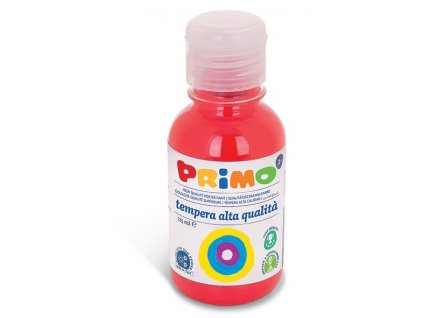Temperová barva PRIMO, 125 ml, červená