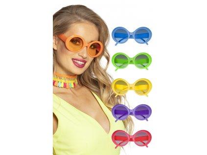 Brýle neonové plastové