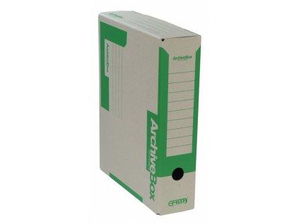 Box archivní 330 x 260 x 75 mm zelený