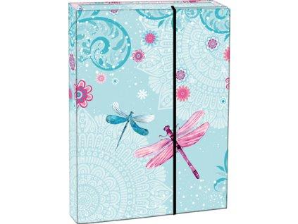 107709 1 box na sesity s klopou a5 dragonfly