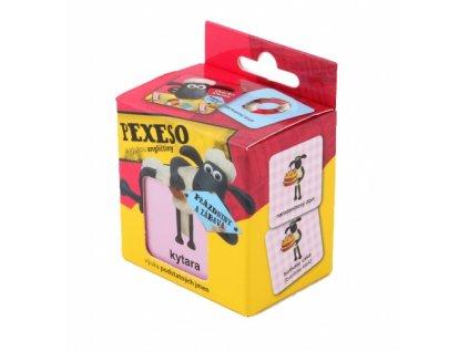 ovecka shaun na prazdninach pexeso s vyukou anglictiny 36 karticek v krabicce 1 1