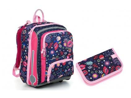 Školní batoh +pouzdro TOPGAL BEBE 19001 G