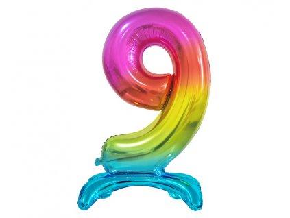 balon foliovy cislo 9
