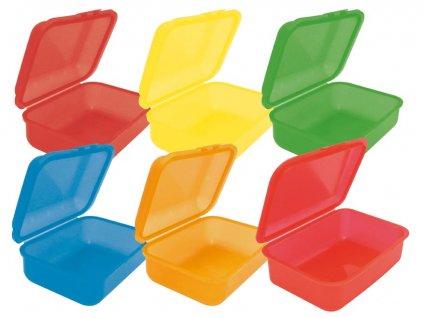 Svačinový box Klickbox mix midi 713410 150 x 110 x 55 mm