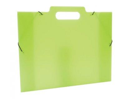 Klopá sloha na výkresy A3 PP Opaline Frosty zelená