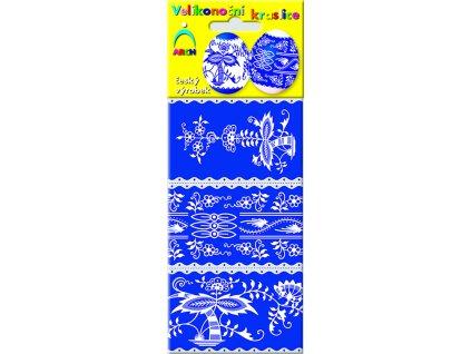 Velikonoční košilky modrotisk