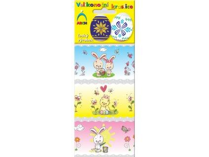 Velikonoční košilky kuřátka a králíčci