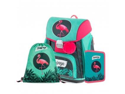 Školní set 3dílný PREMIUM Flamingo