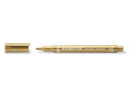 Popisovač metalický Staedtler kuželový hrot 1-2mm zlatý