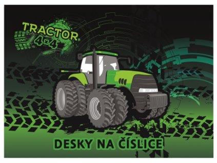 desky na cislice traktor