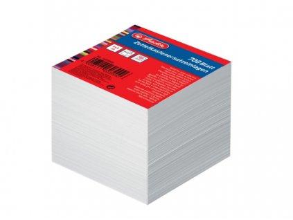 Kostka v krabičce bílá 9x9 cm 700listků
