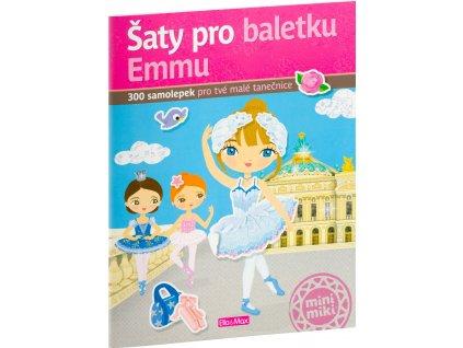 Kniha samolepek - Šaty pro baletku EMMU