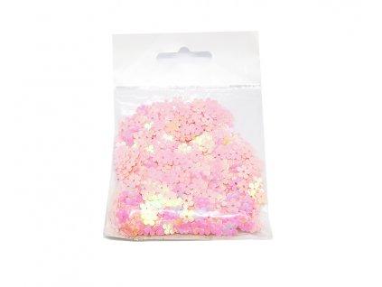 konfety kyticky ruzove 407052