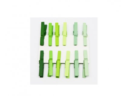 kolicky male 12 ks zelene 221094