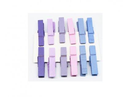 kolicky fialove 12 ks 221098