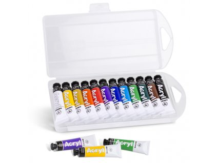 akrylove barvy v tube