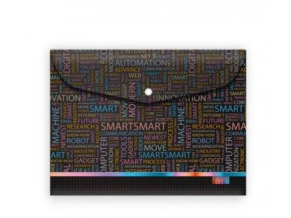 Plastový obal A5 s drukem Smart