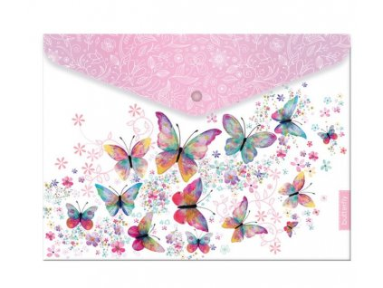 Plastový obal A5 s drukem Butterfly