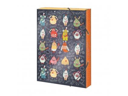 Box na sešity A4 Cute Monsters