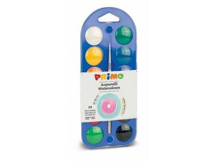 Vodové barvy PRIMO 12ks