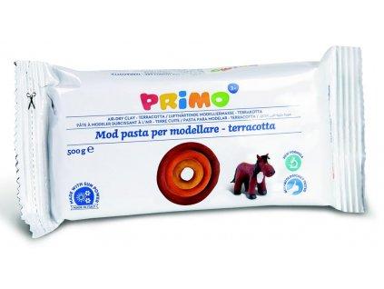 Samotvrdnoucí hmota PRIMO, 500g, terakota