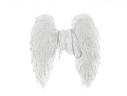 Andělská křídla z peří 50x50cm