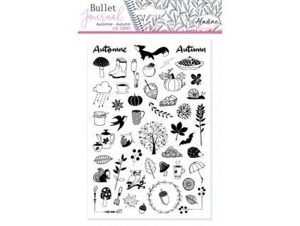Razítka Aladine Stampo Bullet, Podzim, 50ks