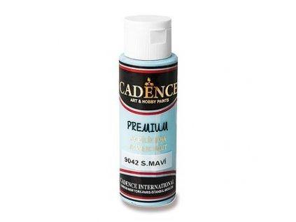 Akrylová barva CADENCE Premium, sv. modrá, 70 ml