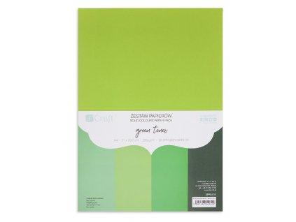 sada papiru zelene