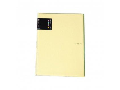 Sloha A4 + blok PASTELINI žlutá