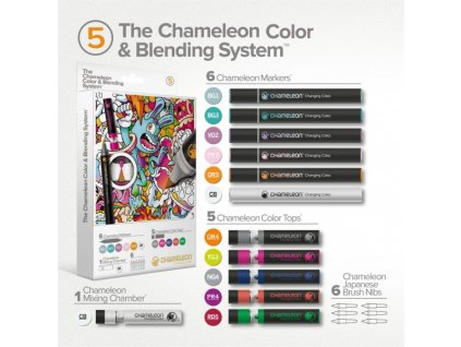 set chameleon color blending system 05 hrave tony