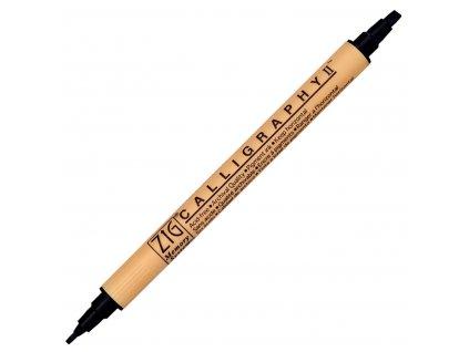 zig calligraphy ii pigment marker 24