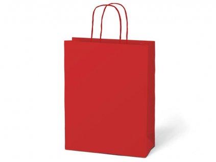 Taška MFP dárková T4 kraft 180x230x100 červená