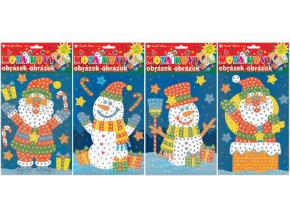 Mozaika 1692 set Vánoce 23x16 cm