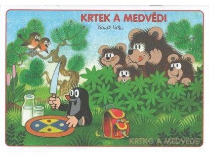 Omalovánky A5 Krtek a medvědi