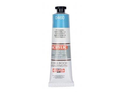Barva acrylová KOH-I-NOOR 40 ml tyrkysová 0460