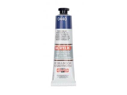 Barva acrylová KOH-I-NOOR 40 ml modř pařížská 0440