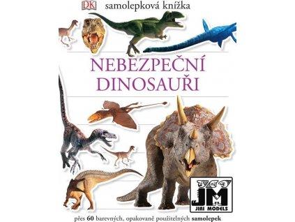 m samolepkova knizka nebezpecni dinosauri 122024