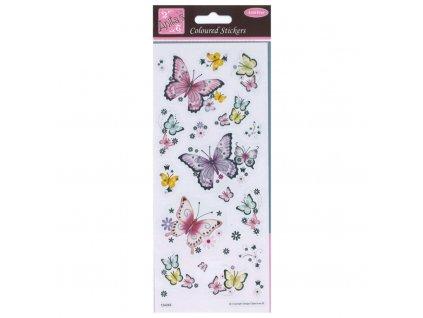 Samolepky Beautiful Buterflies