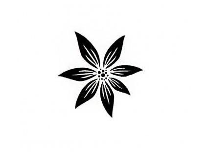 Šablona plastová 14,5x14,5cm květ