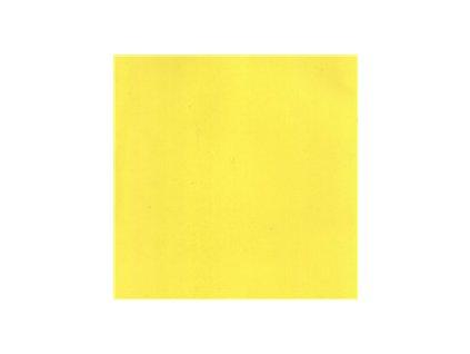 Pěnová guma Foamiran 30x35cm, žlutá