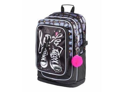 BAAGL Školní batoh Cubic Tenisky