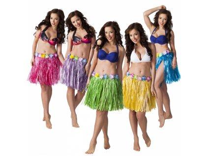 Havajská sukně, krátká