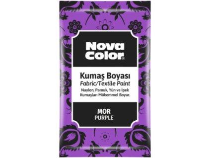 barva na textil fialova