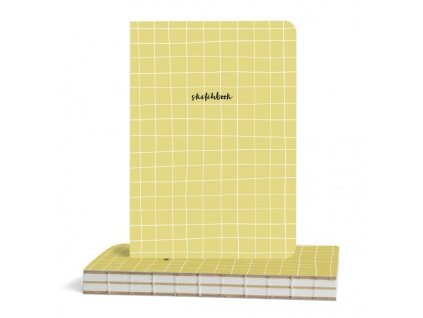 Skicák Plain (100g/m, 112 listů) A5 Graph Check