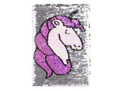 BAAGL Notes flitrový Unicorn