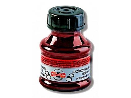 razitkova barva cervena
