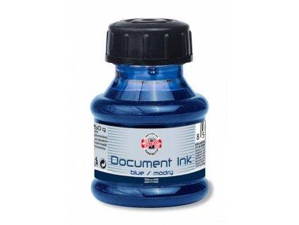 Inkoust 50 ml dokumentní modrý