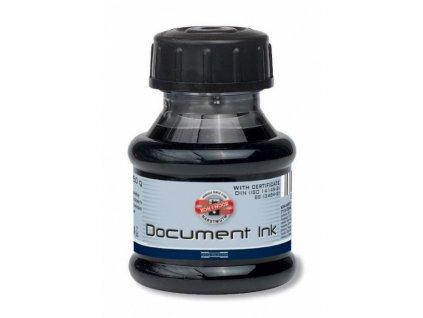 Inkoust 50 ml dokumentní černý