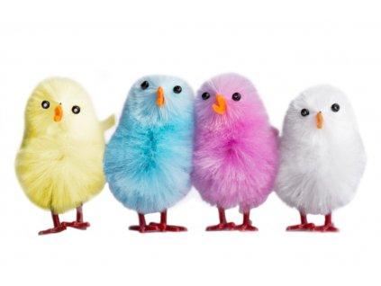 Kuřátko velikonoční pastelové barvy 3,5 cm